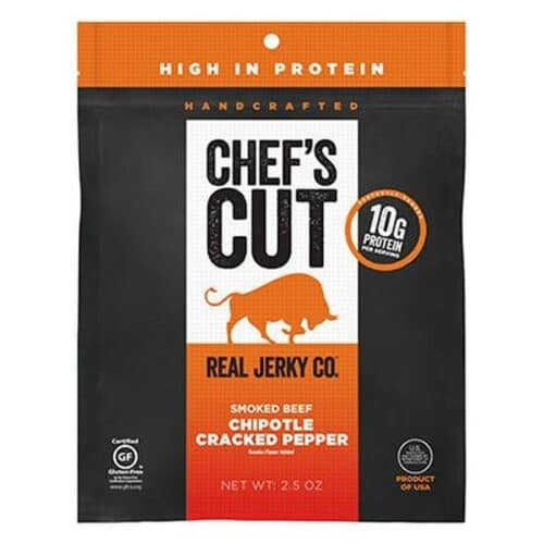 Chef's Cut Real Steak Jerky Chipotle Cracked Pepper