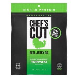Chef's Cut Real Turkey Jerky Teriyaki