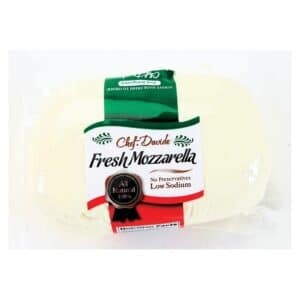 Chef Davide Fresh Mozzarella Vacuum Pack (6/1lb)