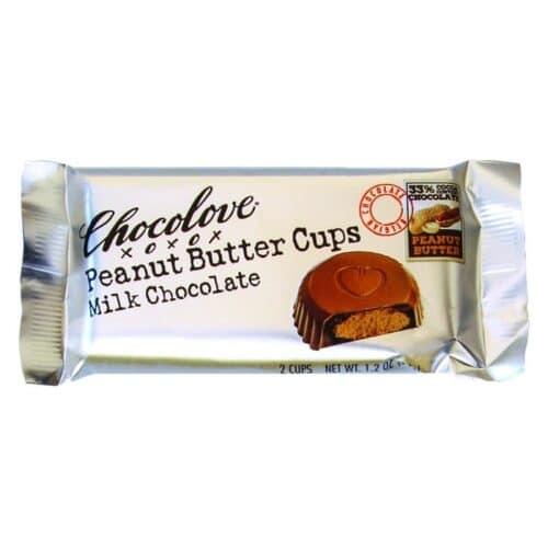 Chocolove Peanut Butter Cups Milk Chocolate