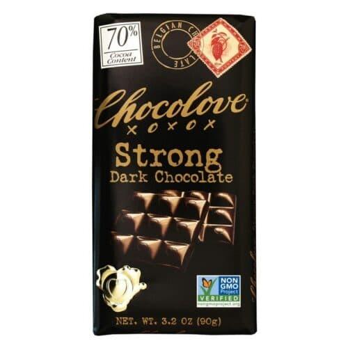 Chocolove Strong Dark Chocolate 70%