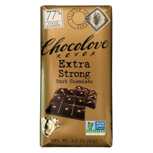 Chocolove Extra Strong Dark Chocolate 77%