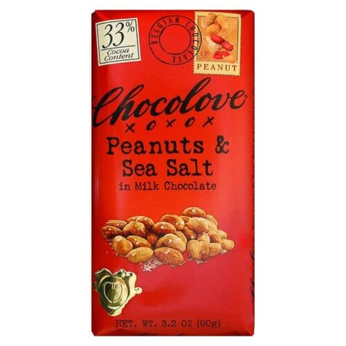 Chocolove Salted Peanut in Milk Chocolate 33%