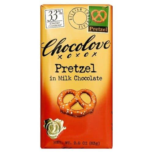 Chocolove Pretzel in Milk Chocolate 33%