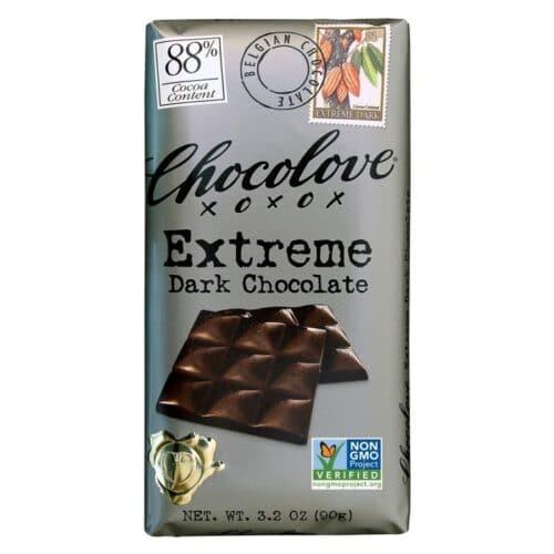 Chocolove Extreme Dark Chocolate 88%