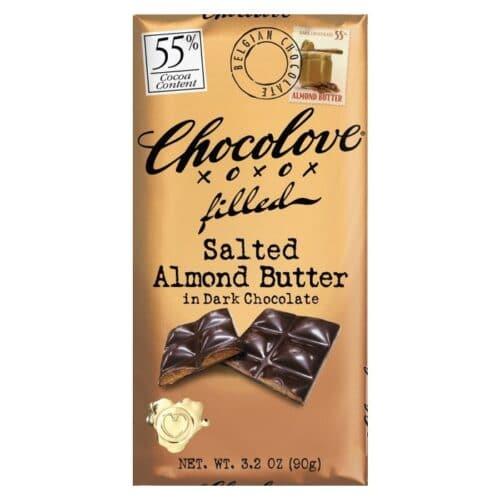 Chocolove Salted Almond Butter Dark Chocolate 55%