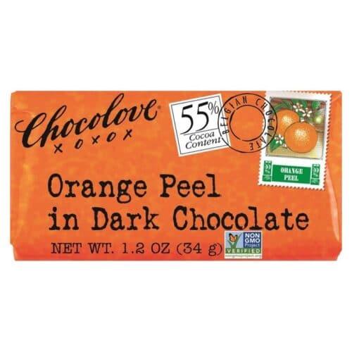 Chocolove MINI Orange Peel in Dark Chocolate 55%
