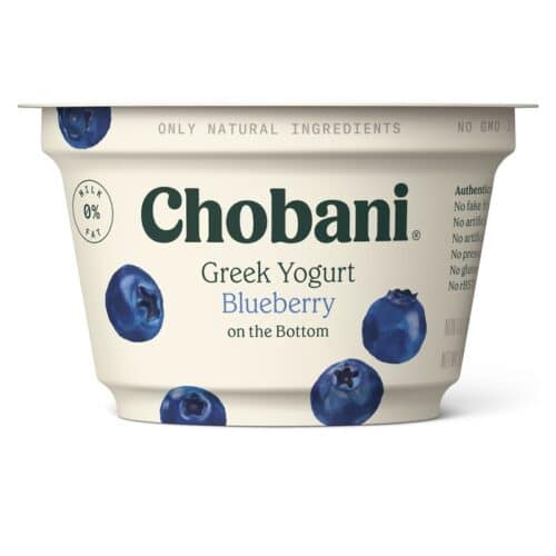 Chobani Greek Yogurt 0% Fat Blueberry