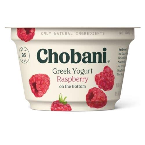 Chobani Greek Yogurt 0% Fat Raspberry