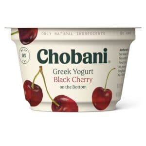 Chobani Greek Yogurt 0% Fat Black Cherry