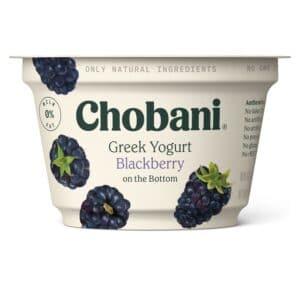 Chobani Greek Yogurt 0% Fat Blackberry