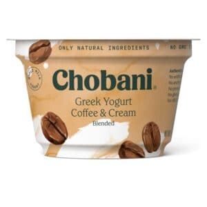 Chobani Greek Yogurt 2% Fat Coffee Blended
