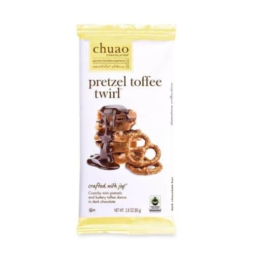 Chuao Pretzel Toffee Twirl Dark Chocolate #00961 (10/2.8oz)