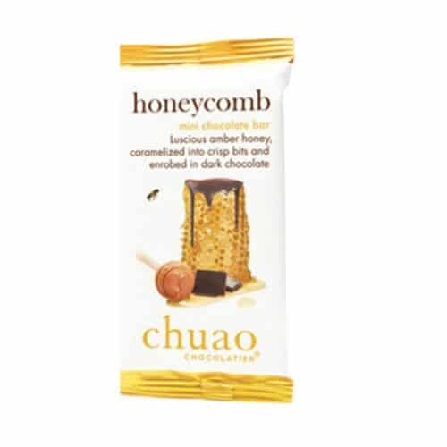 Chuao Mini Honey Comb Dark Chocolate Bar #00343 (24/0.39oz)