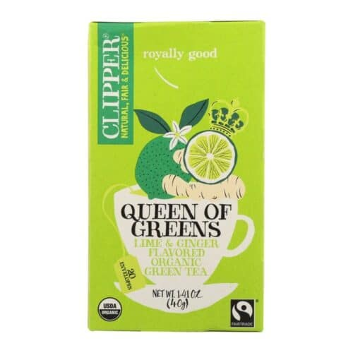 Clipper Organic Tea Queen of Greens Lime & Ginger
