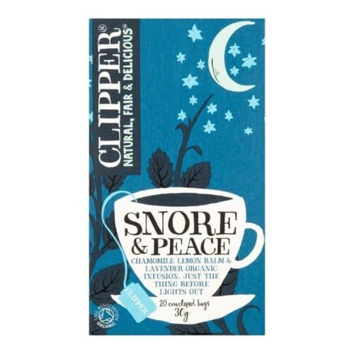 Clipper Organic Tea Snore & Peace Chamomile, Lemon & Lavender Herbal