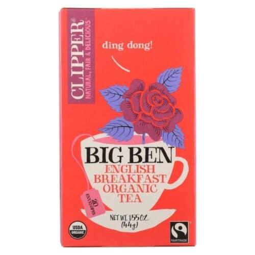 Clipper Organic Tea Big Ben English Breakfast