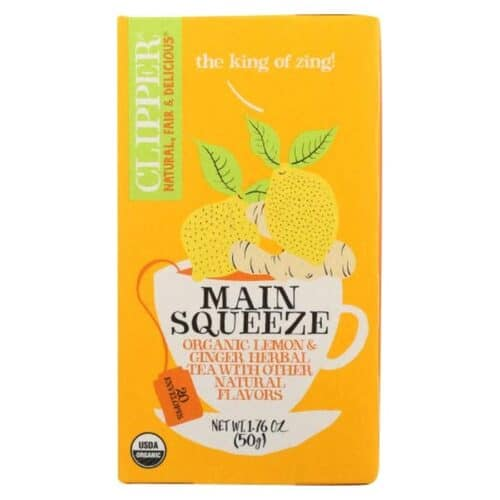 Clipper Organic Tea Main Squeeze Lemon & Ginger Herbal