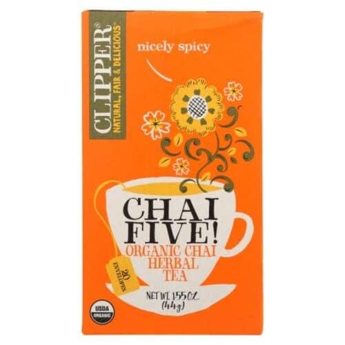 Clipper Organic Tea Chai Five Chai Herbal