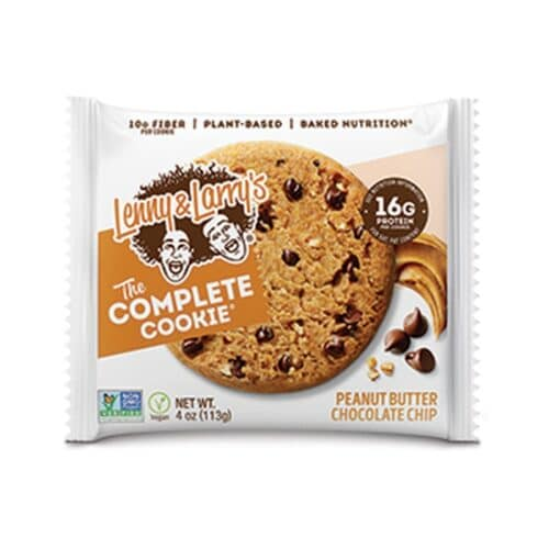 Complete Peanut Butter Chocolate Chip Cookie