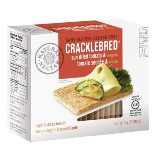 Cracklebred - Gluten Free Sun Dried Tomato & Oregano