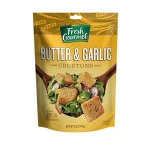 Croutons Butter & Garlic