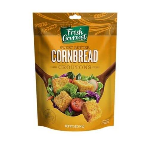 Croutons Sweet Butter Cornbread