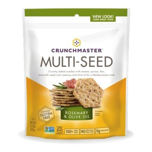 Crunchmaster Multi-Seed Crackers - Rosemary & Olive Oil