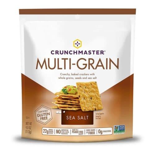 Crunchmaster Multi-Grain Crackers - Sea Salt