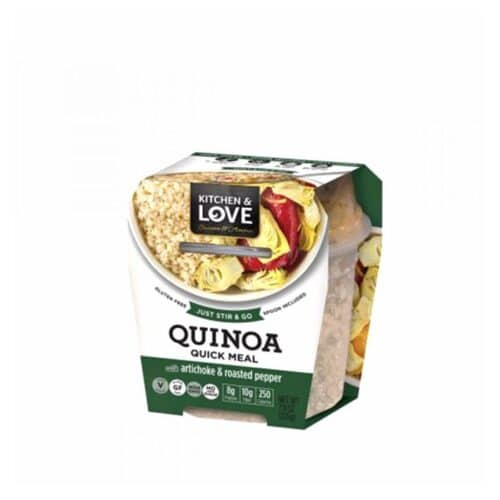 Cucina & Amore Quinoa Meal-[A]rtichoke & Roasted Peppers