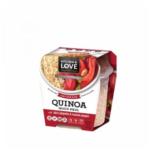 Cucina & Amore Quinoa Meal-[S]picy Jalapeno & Roasted Peppers