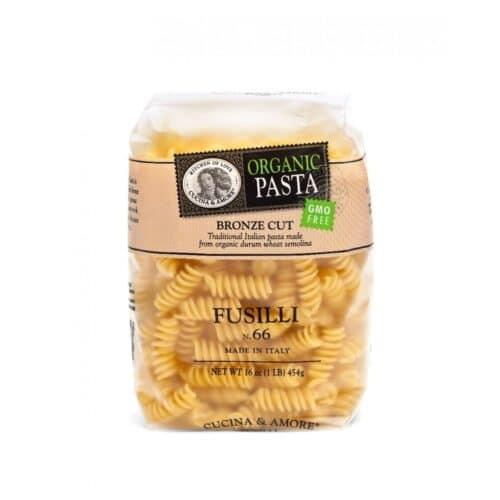 Cucina & Amore Organic Pasta Fusilli #66
