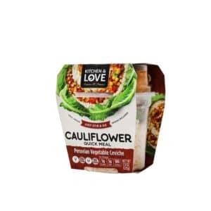 Cucina & Amore RTE Cauliflower Meal - Peruvian Veg Ceviche