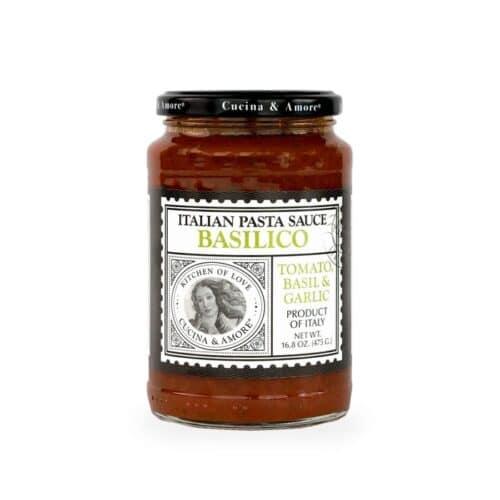 Cucina & Amore Basilico (Tomato w/ Basil) Pasta Sauce
