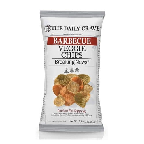The Daily Crave Veggie Chips Barbeque