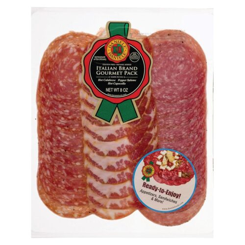 Daniele Gourmet Pack (Hot Calabrese/Pepper Salame/Hot Capocollo) #50729 (10 pc)