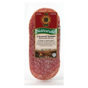 Daniele Natural Salame with Wine Sliced #50424 (12 pc)