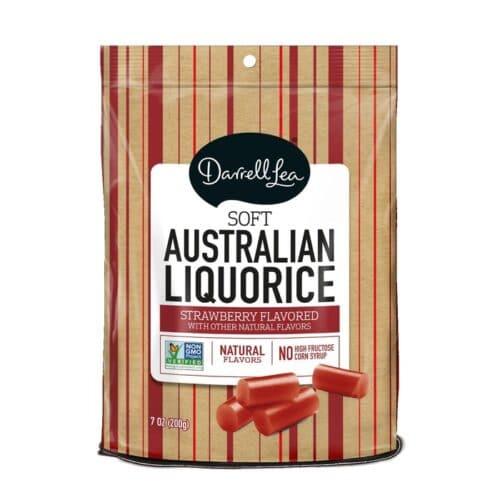 Darrell Lea Strawberry Licorice