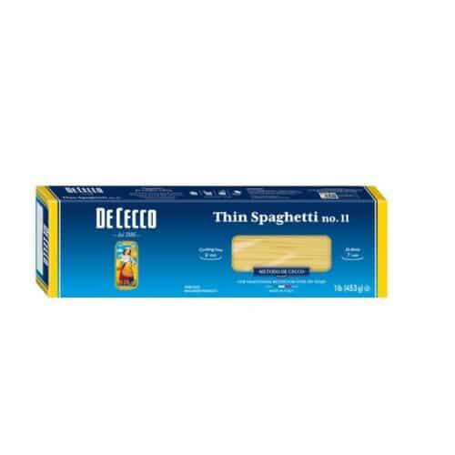 De Cecco Thin Spaghettini  n.11  (VSA0011)