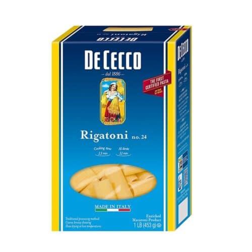 De Cecco Rigatoni n.24 (VSS0024) (12/16oz)