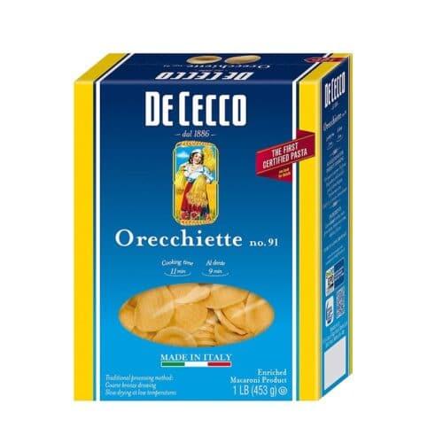 De Cecco Orecchiette n.91 (VSS0091)(12/16oz)
