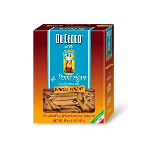 De Cecco (Whole Wheat) Penne Rigate  n.41  (VIP1041)