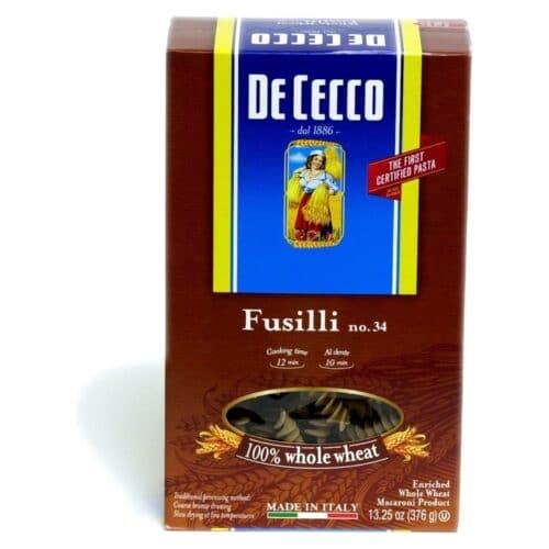 De Cecco (Whole Wheat) Fusilli Integrali  n.34   (VIP1034)