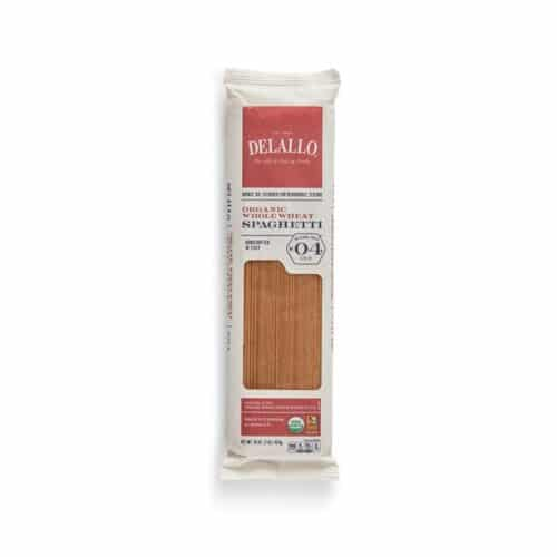 DeLallo Organic Whole Wheat Spaghetti #4