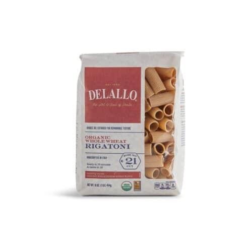 DeLallo Organic Whole Wheat Rigatoni  #21