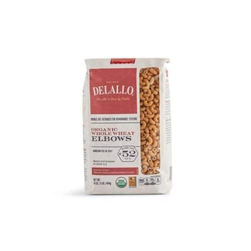 DeLallo Organic Whole Wheat Elbows #52
