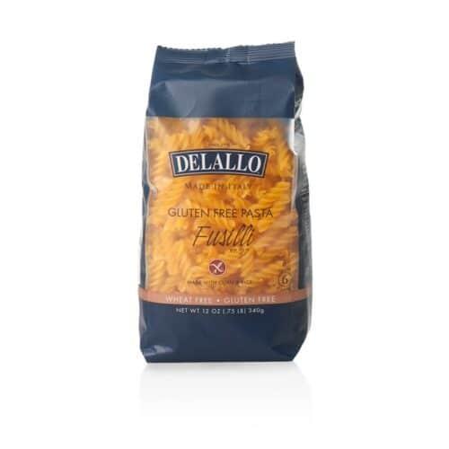 DeLallo Gluten Free Pasta Corn & Rice Fusilli