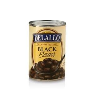 DeLallo Black Beans