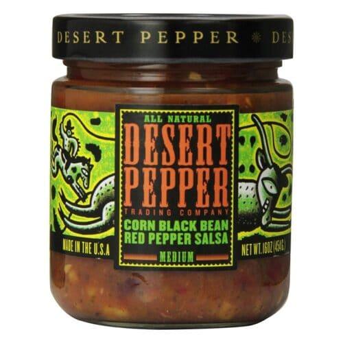 Desert Corn Black Bean Red Pepper