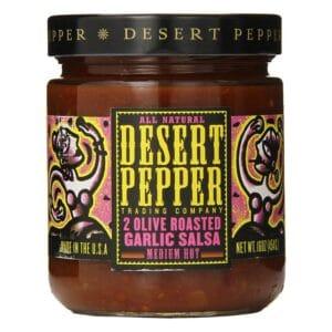 Desert Two Olive Roasted Garlic Pepper